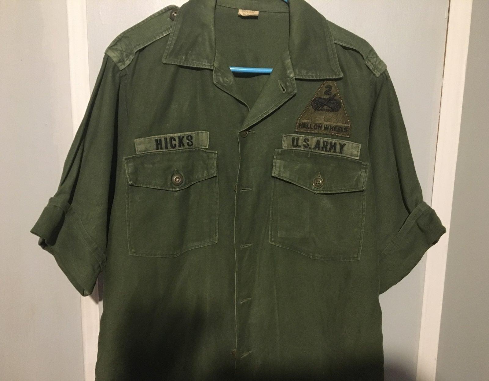 Army jacket vietnamme!