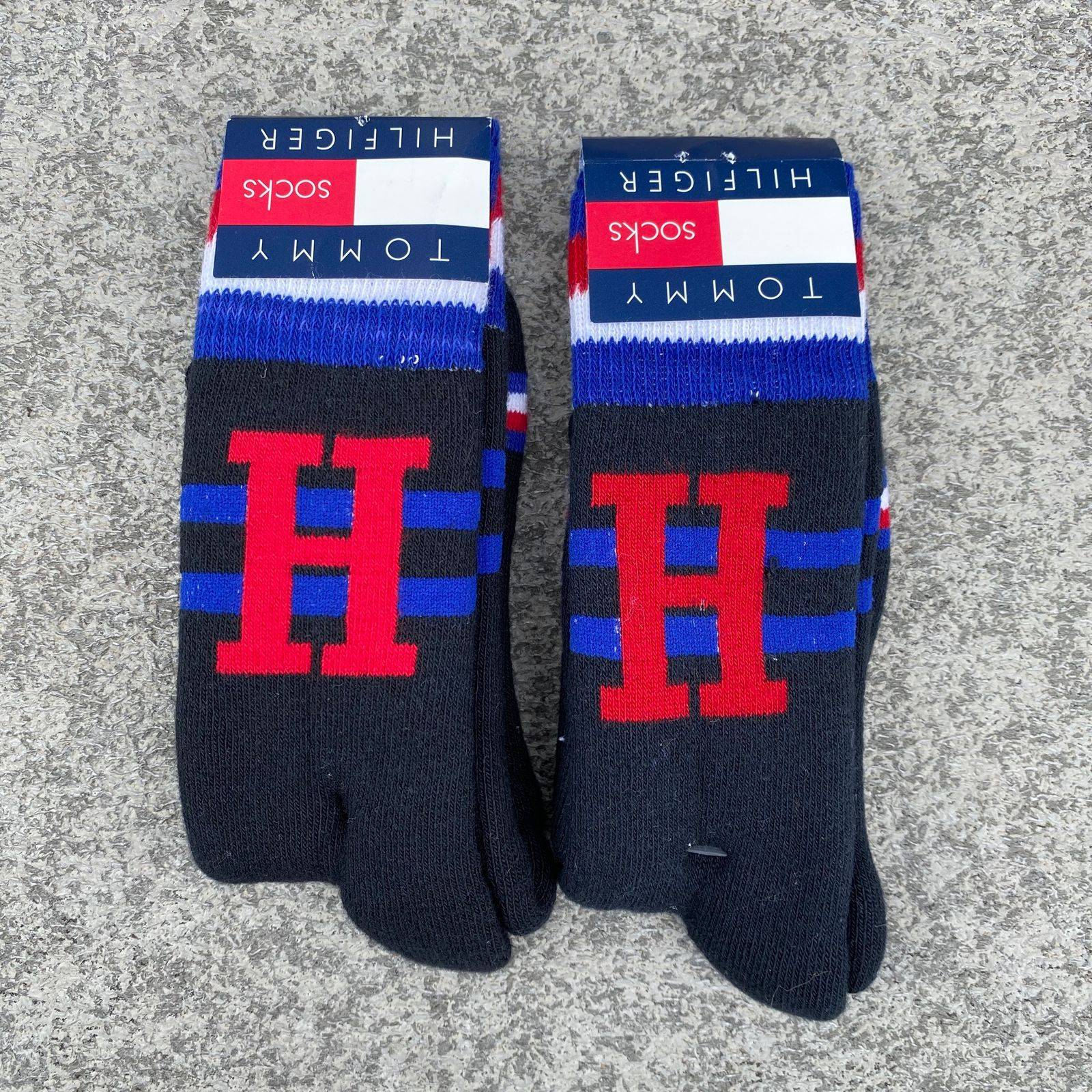 Tommy Hilfiger 1990s Logo Socks (2 Pair)