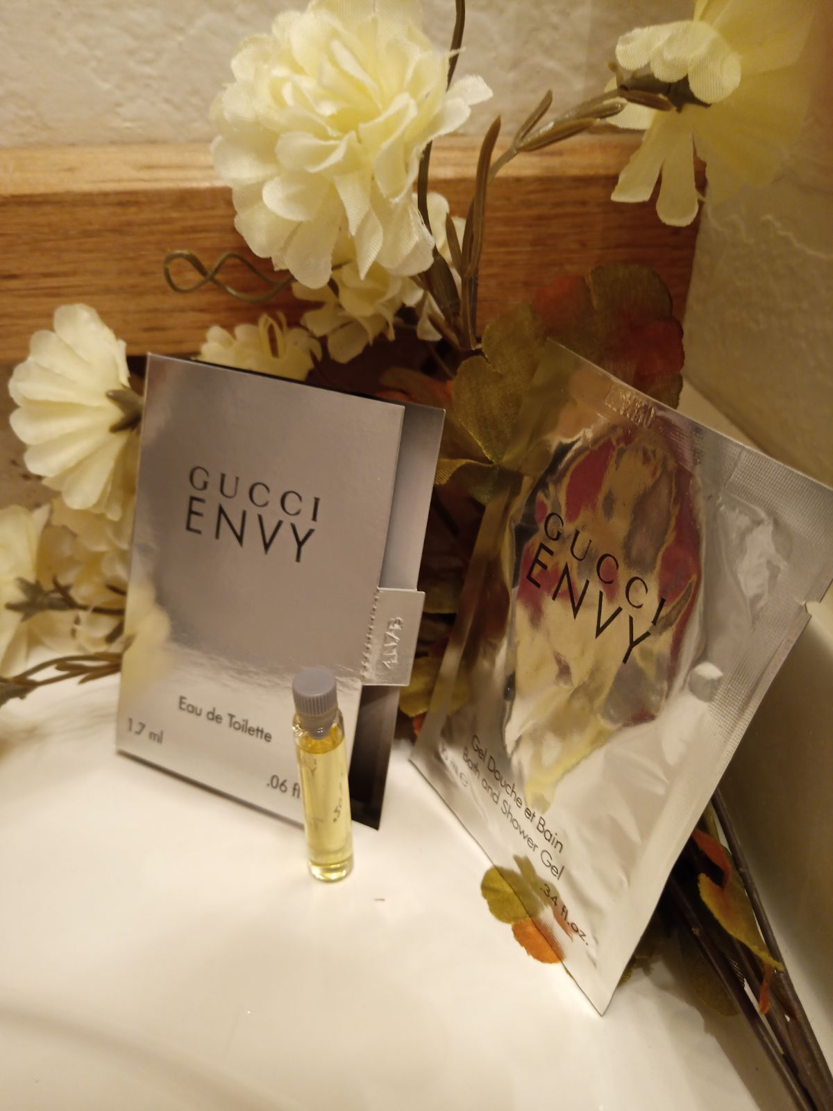 Gucci ENVY PERFUME EDT - 2 SETS-SEE DESC