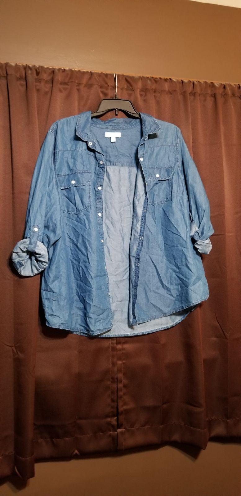 3XL Denim Shirt