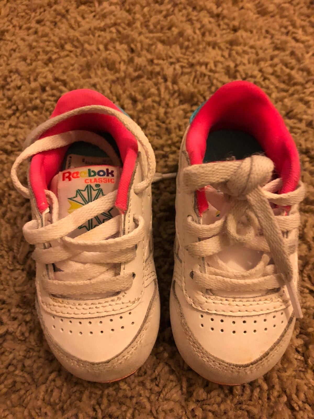 Reebok baby hard bottom shoes
