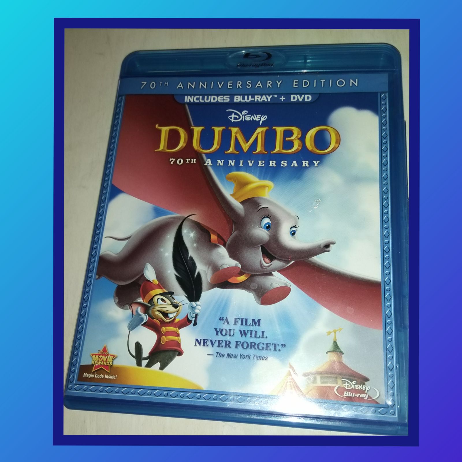 DISNEY DUMBO 70th ANNIV. BLU-RAY/DVD