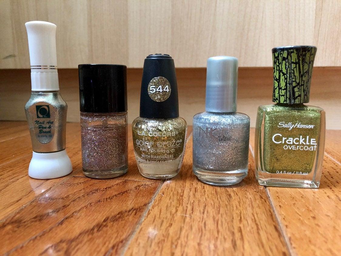 5/$15 Glitter Sparkle Nail Polish Bundle