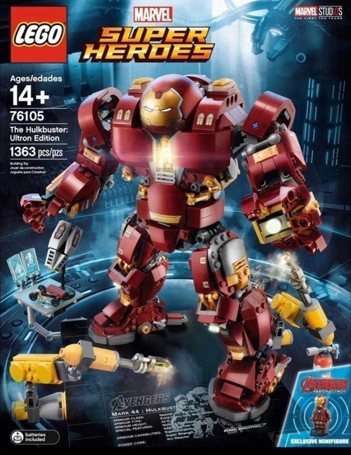 Lego hulkbuster 76105 ironman