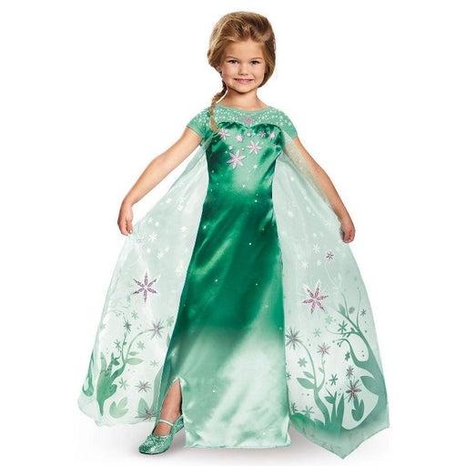Disney Frozen Fever Elsa Costume Dress
