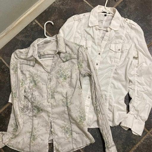 Women's Button up Shirts lot
