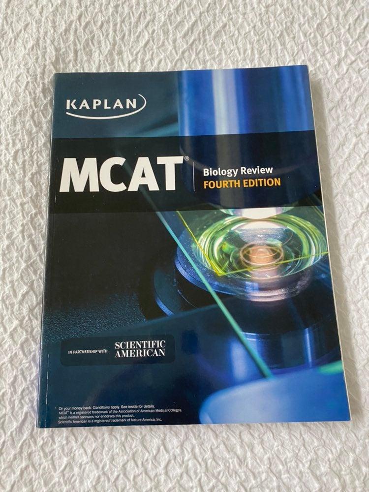 Kaplan MCAT BIOLOGY REVIEW BOOK