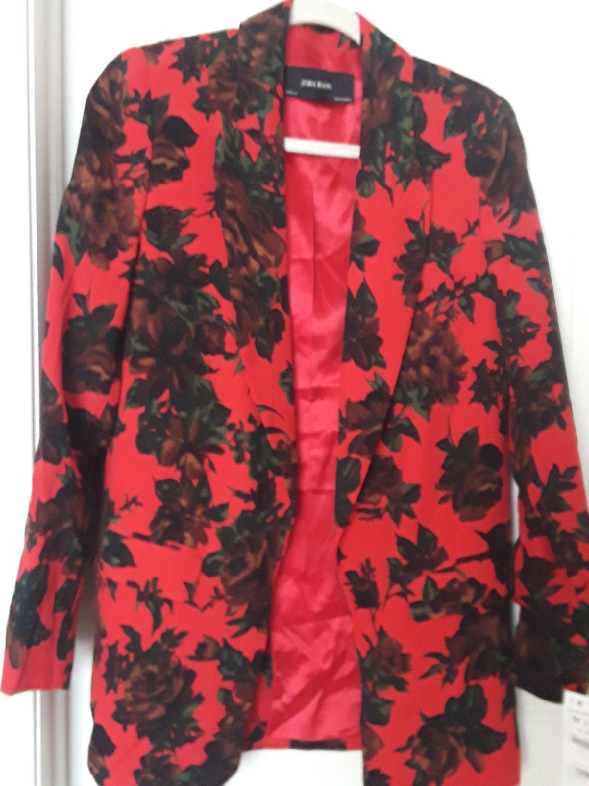 Zara blazer cardigan