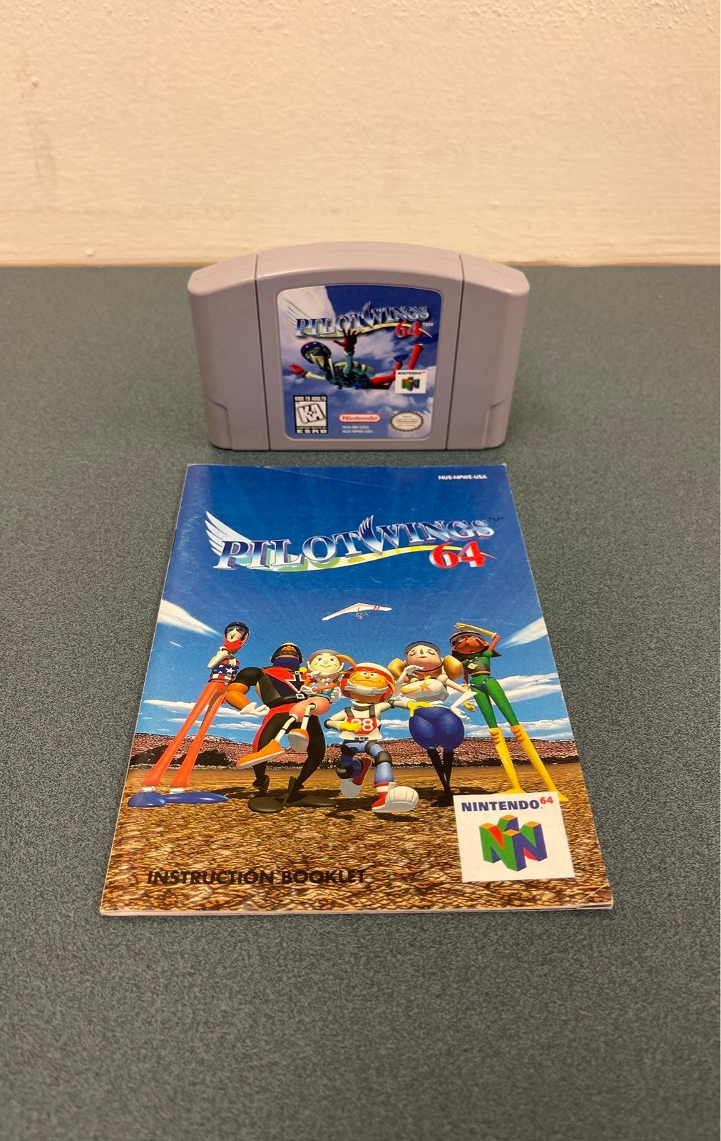 Nintendo N64 Pilot Wings