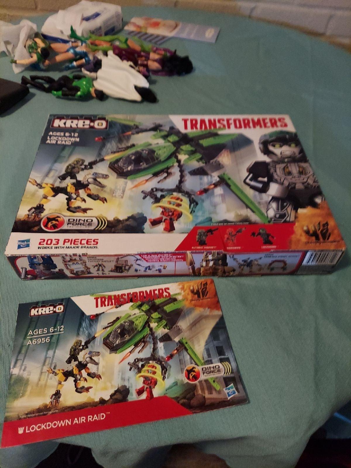 Kreo transformers Lego set