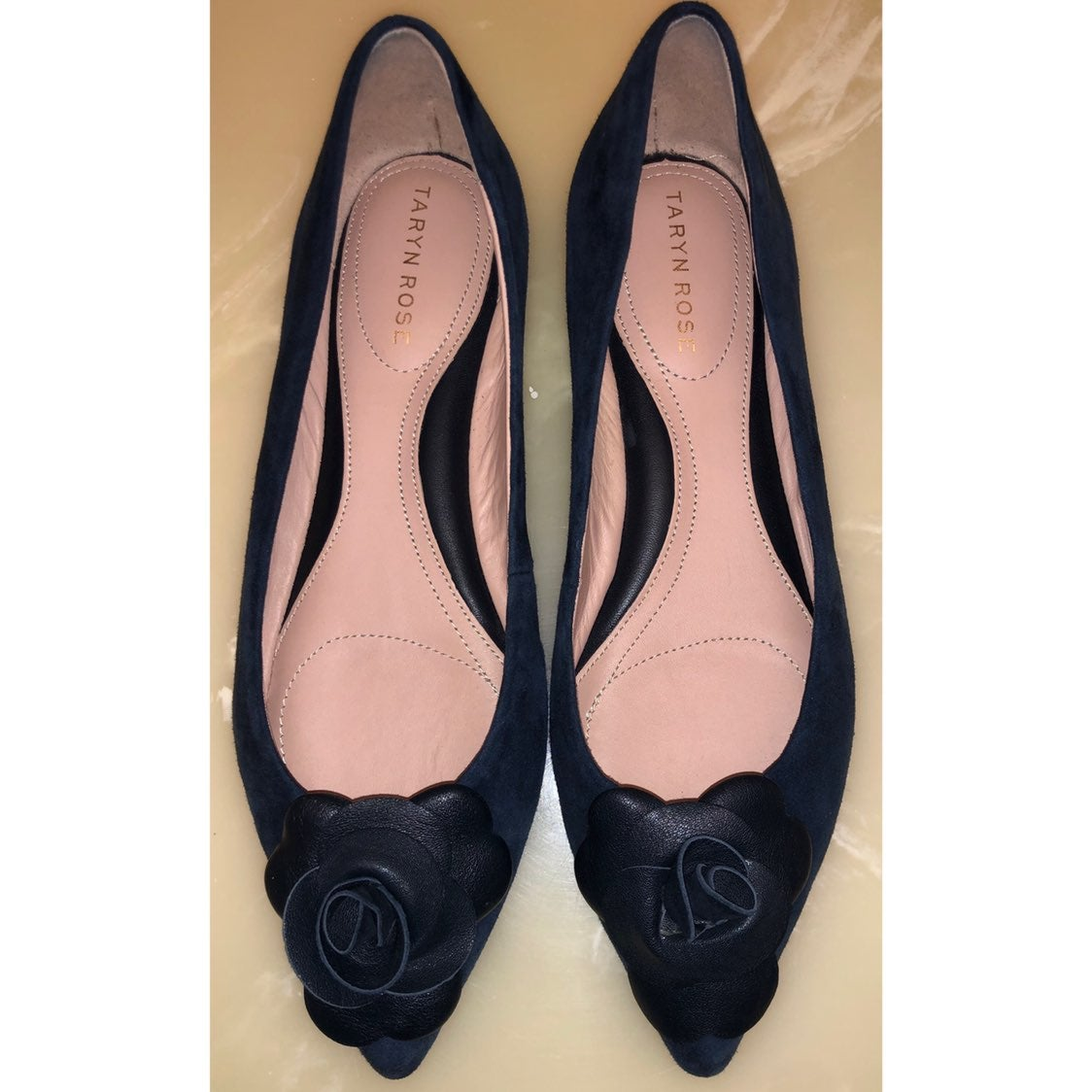 Taryn Rose Frida Pointed Toe Flat 7B