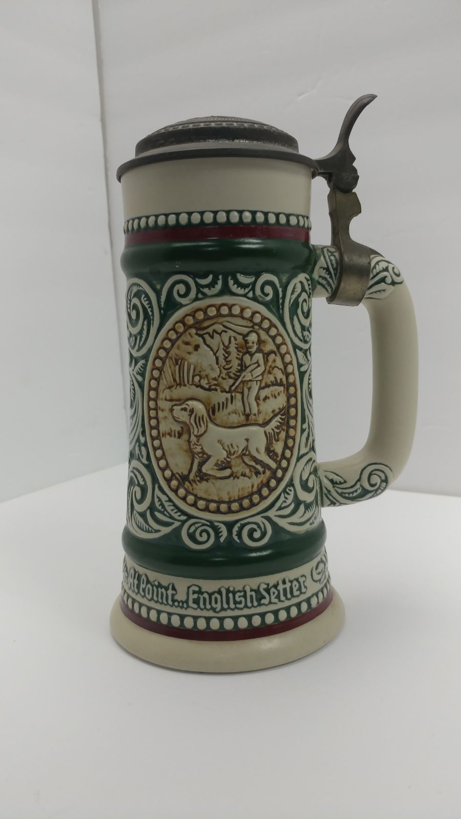 Vintage 1978 Avon Beer Stein.The Strike