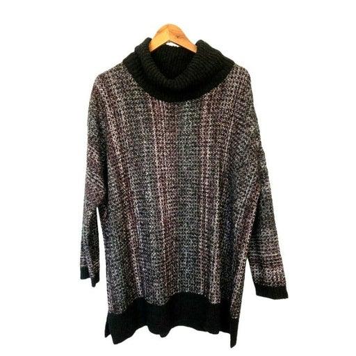 J. JILL Pure Jill Roll Collar Tunic Sweater Womens Size XS / S Oversized NWT