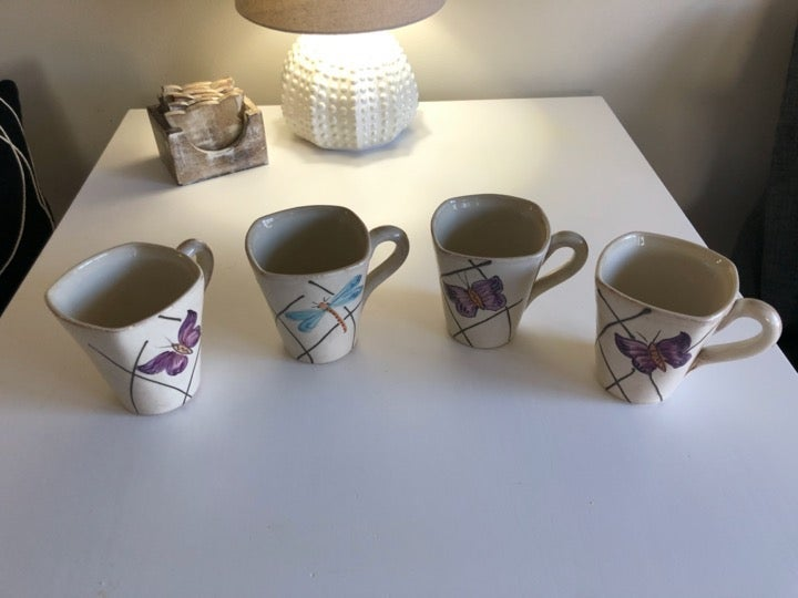 Set of Cardinal Inc. Mugs Made in Italy