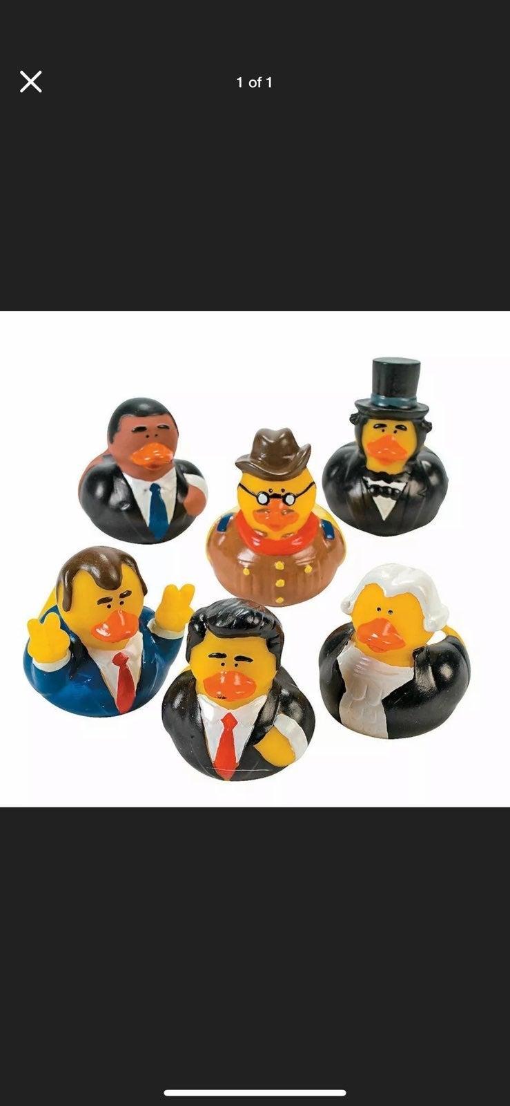 President Rubber Duck lot