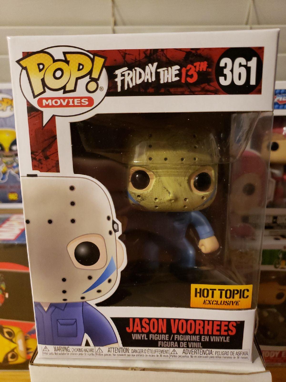 Jason Voorhees Funko minor scuff