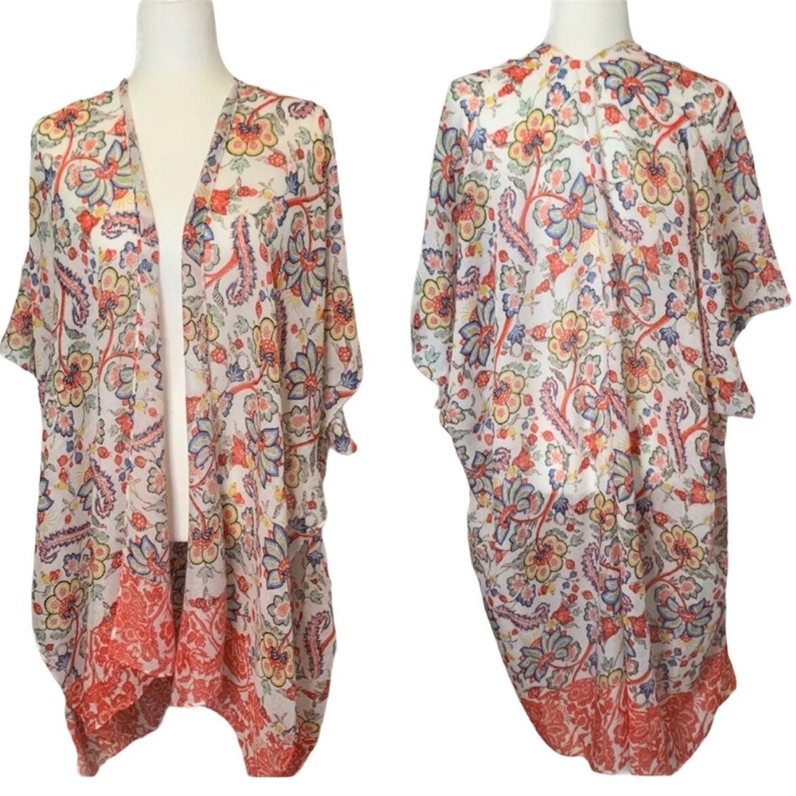 NEW | Floral Kimono • OS