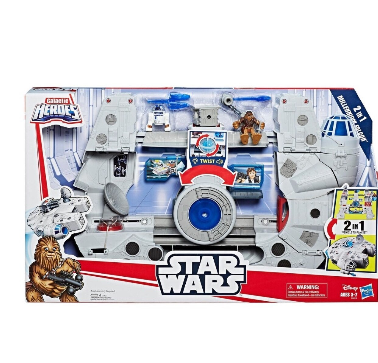 Star Wars:  Millennium Falcon  2 in 1