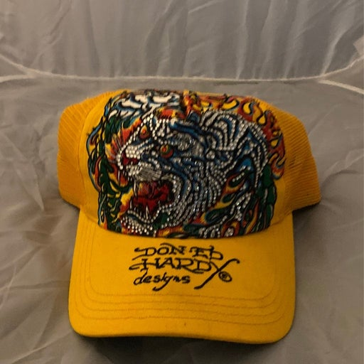 Ed Hardy Hat with custom crystals