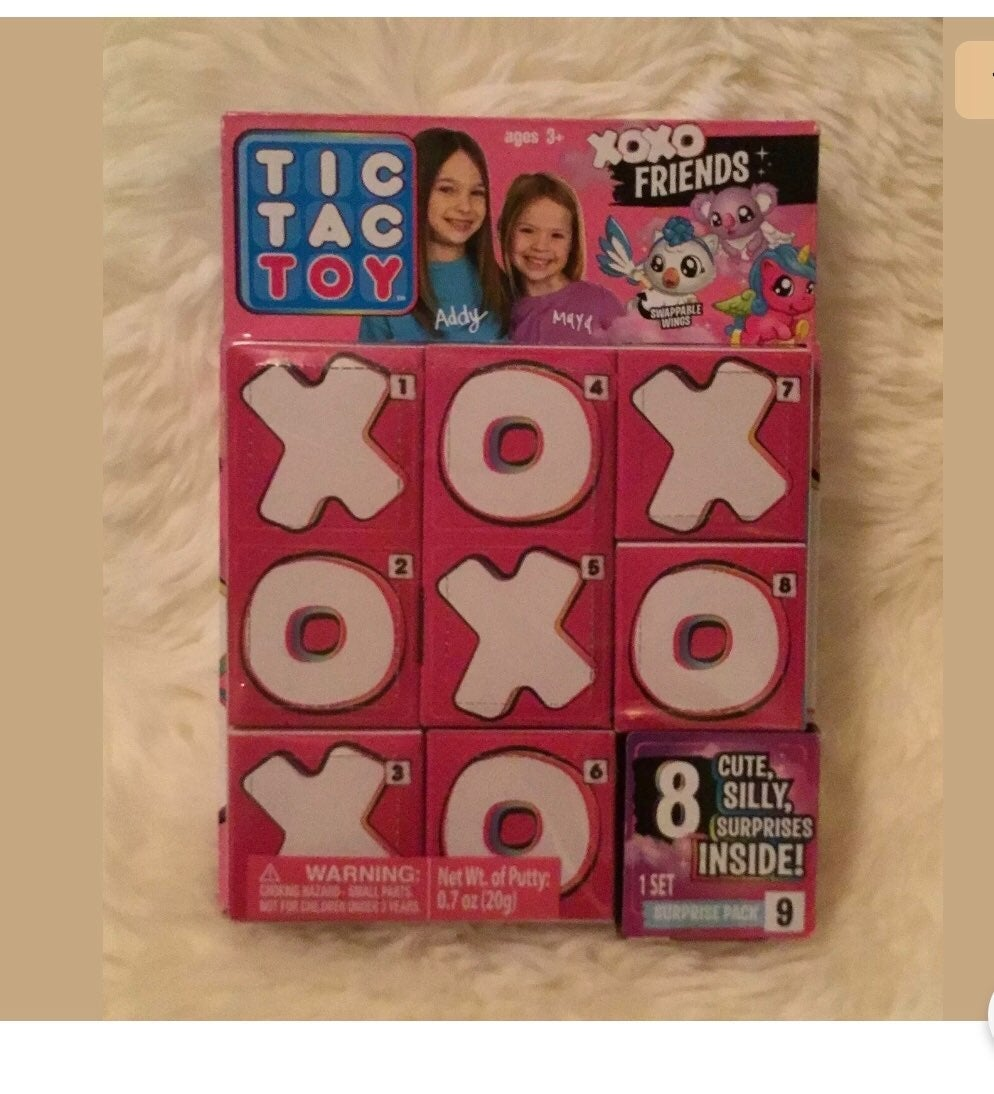 Tic Tac Toy XOXO multipack surprise