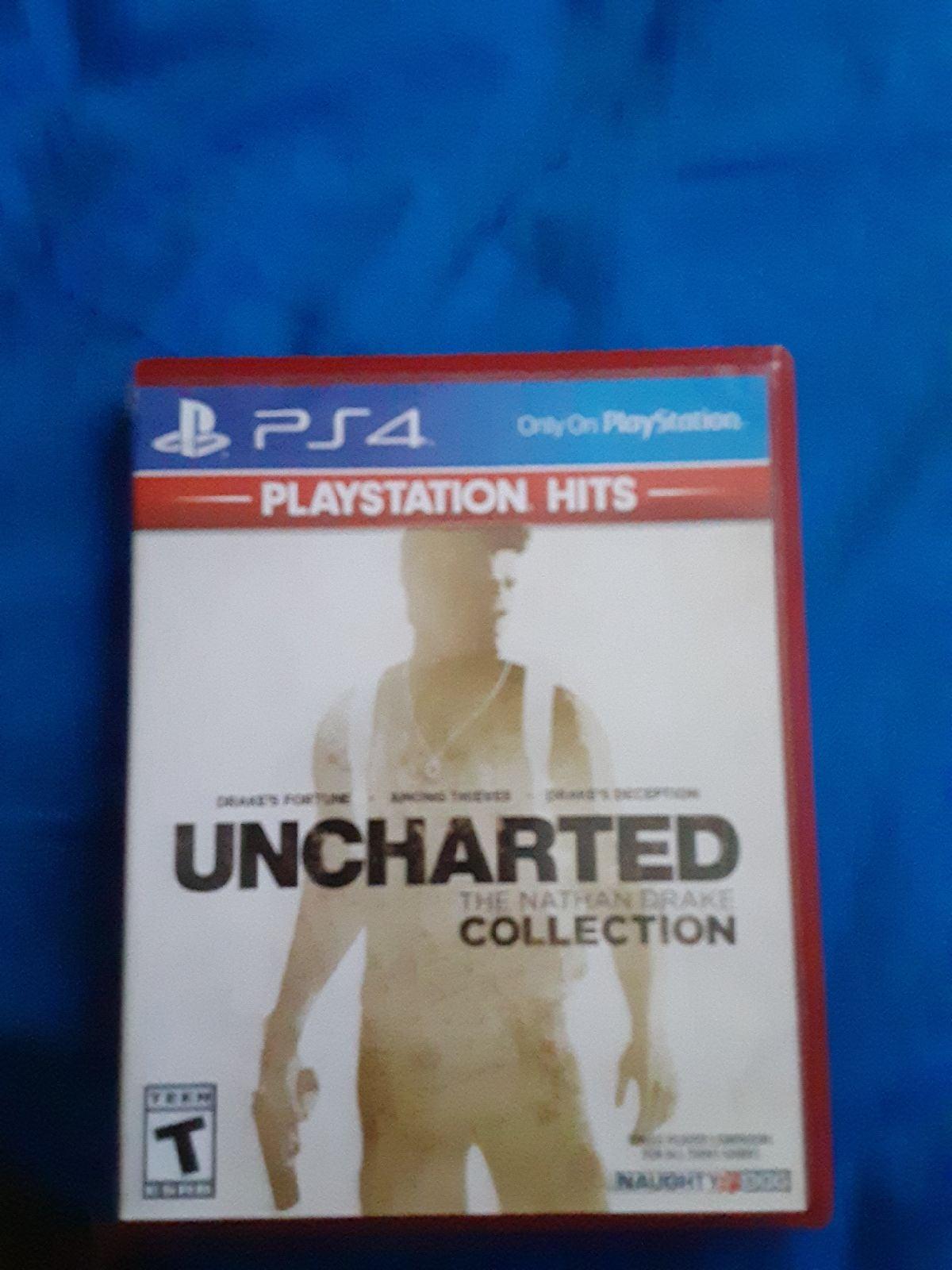 Uncharted 1 2 and 3 game bundle