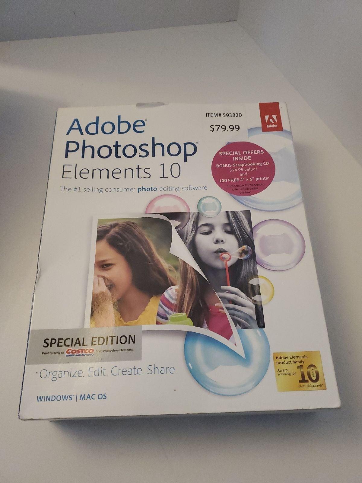 Adobe Photoshop Elements 10 with Bonus N