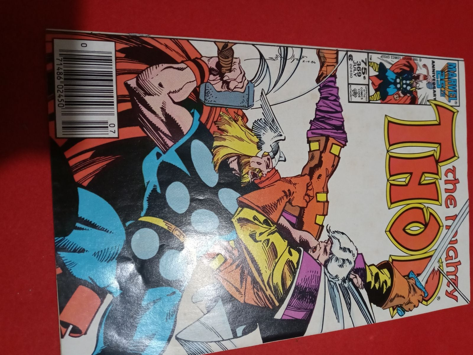 The mighty Thor #369 marvel comics