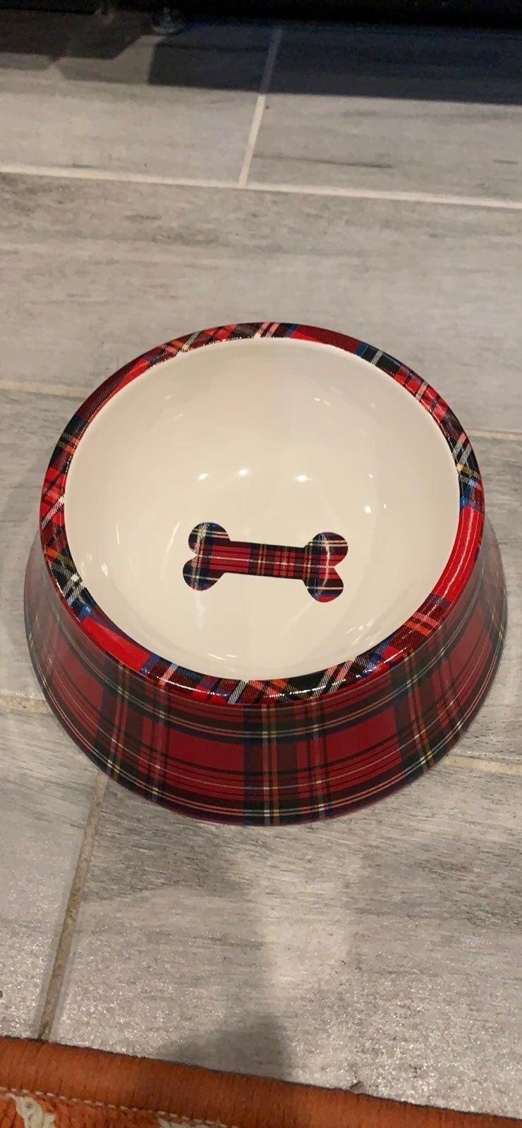 talbots Dog Bowl