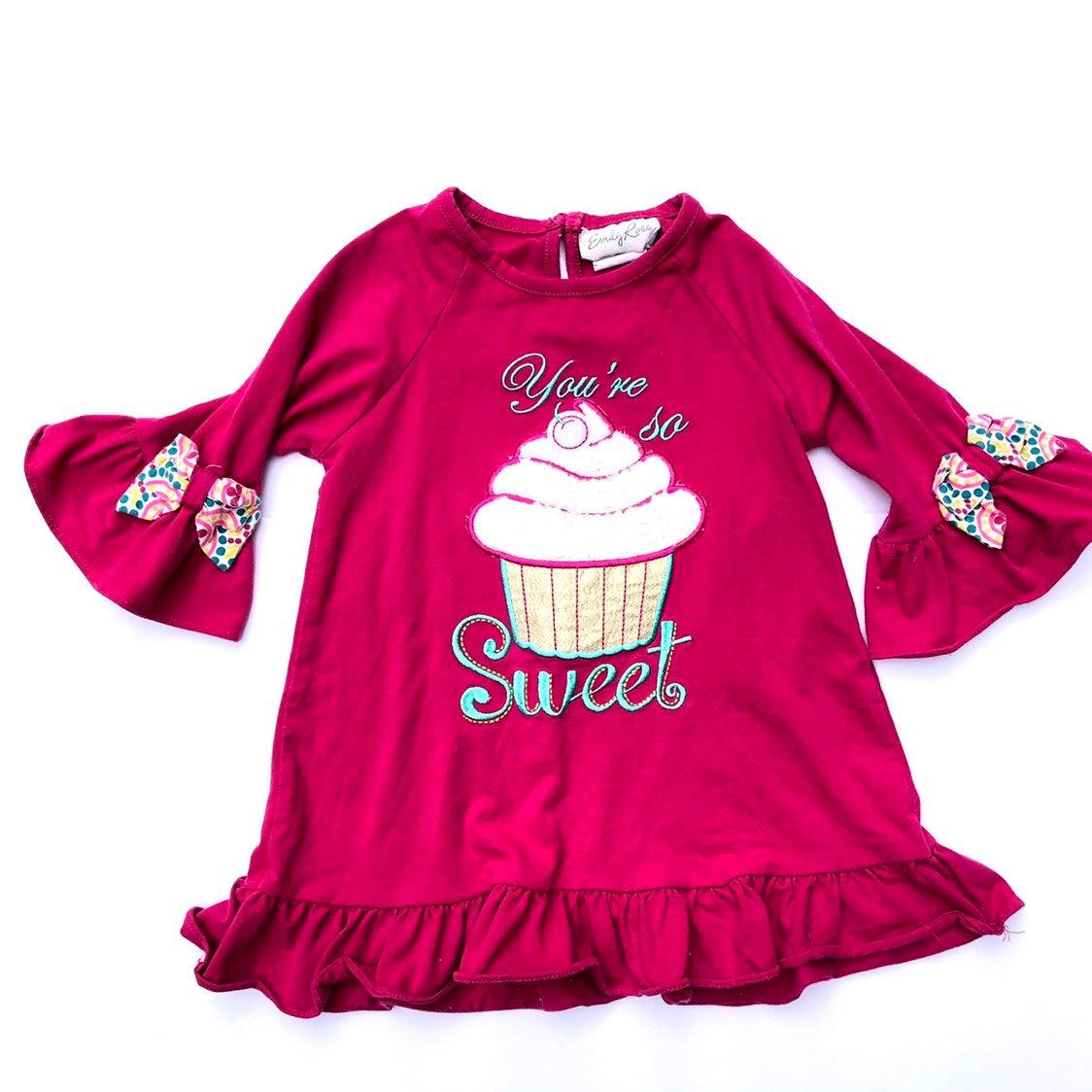 Girls Emily Rose Shirt Top Cupcake 6