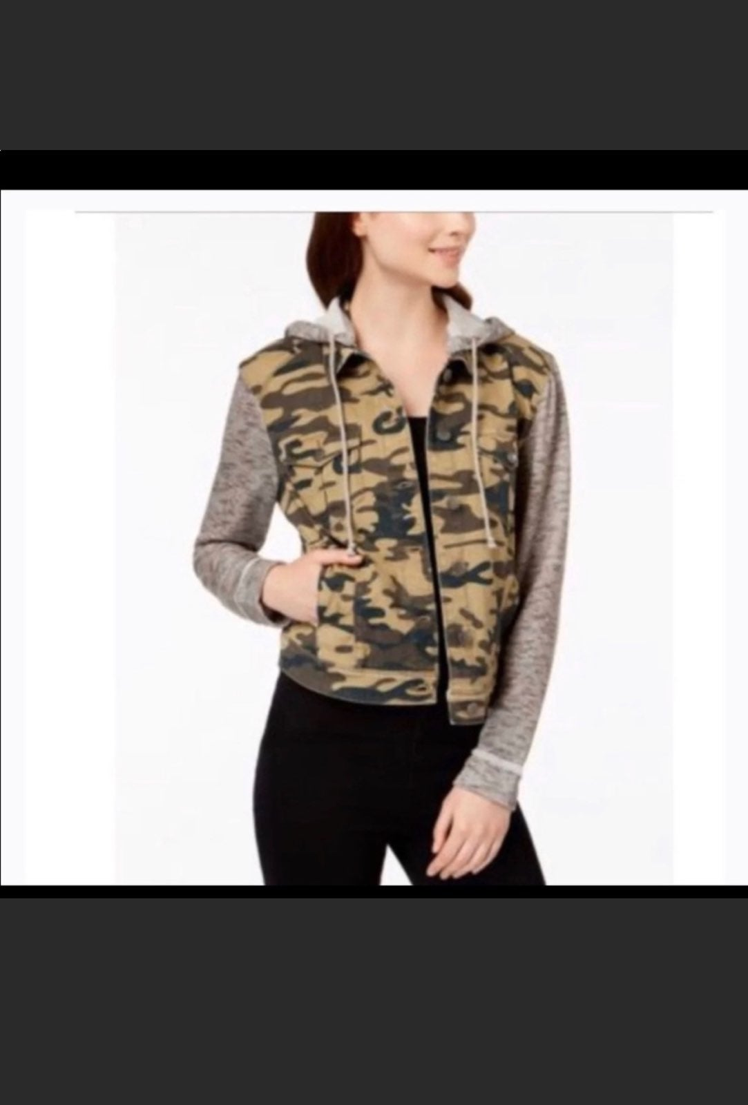 Tinseltown hooded jacket size large