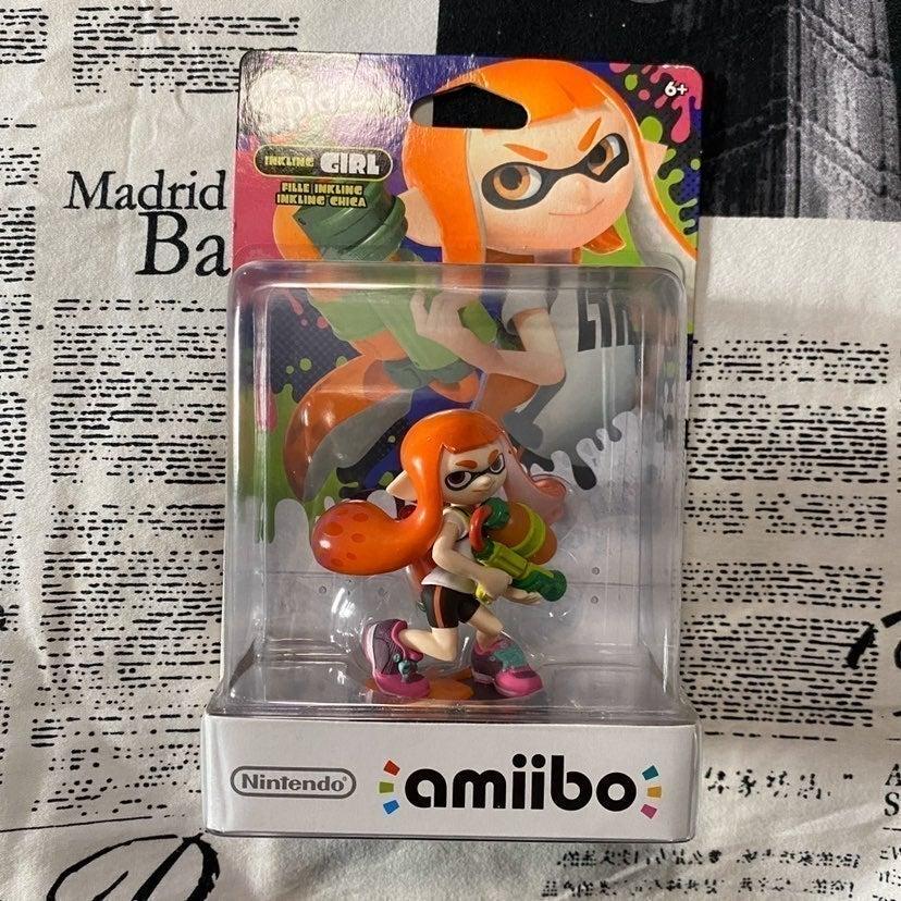 Inkling Girl Amiibo (new)