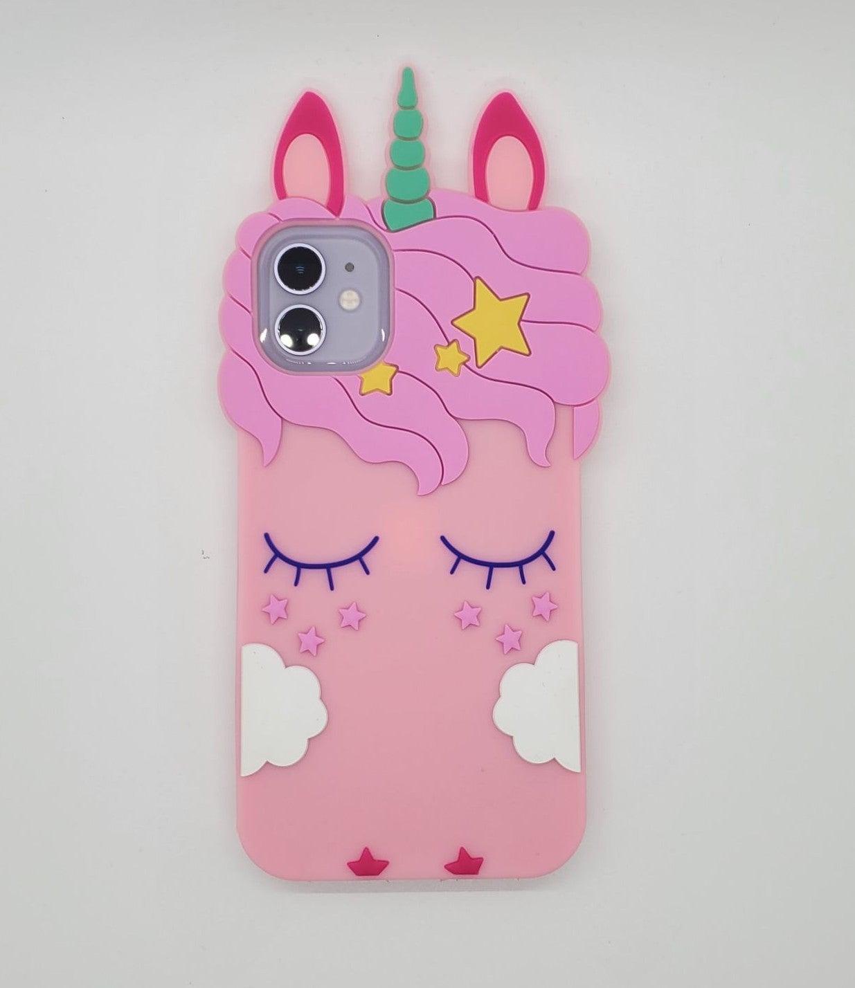 iPhone 11 Case Unicorn Soft Silicone