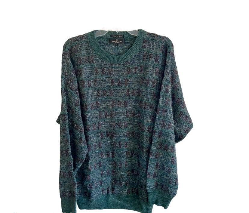 Bugatchi mens crew neck sweater L