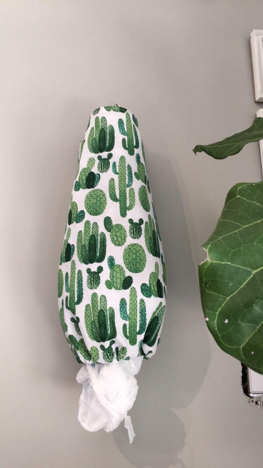 Cactus Grocery bag holder