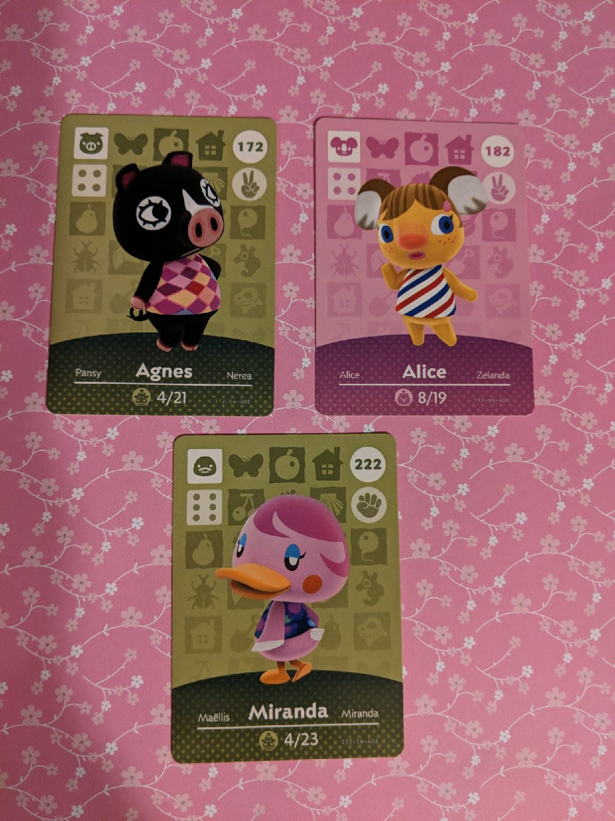 animal crossing amiibo cards lot