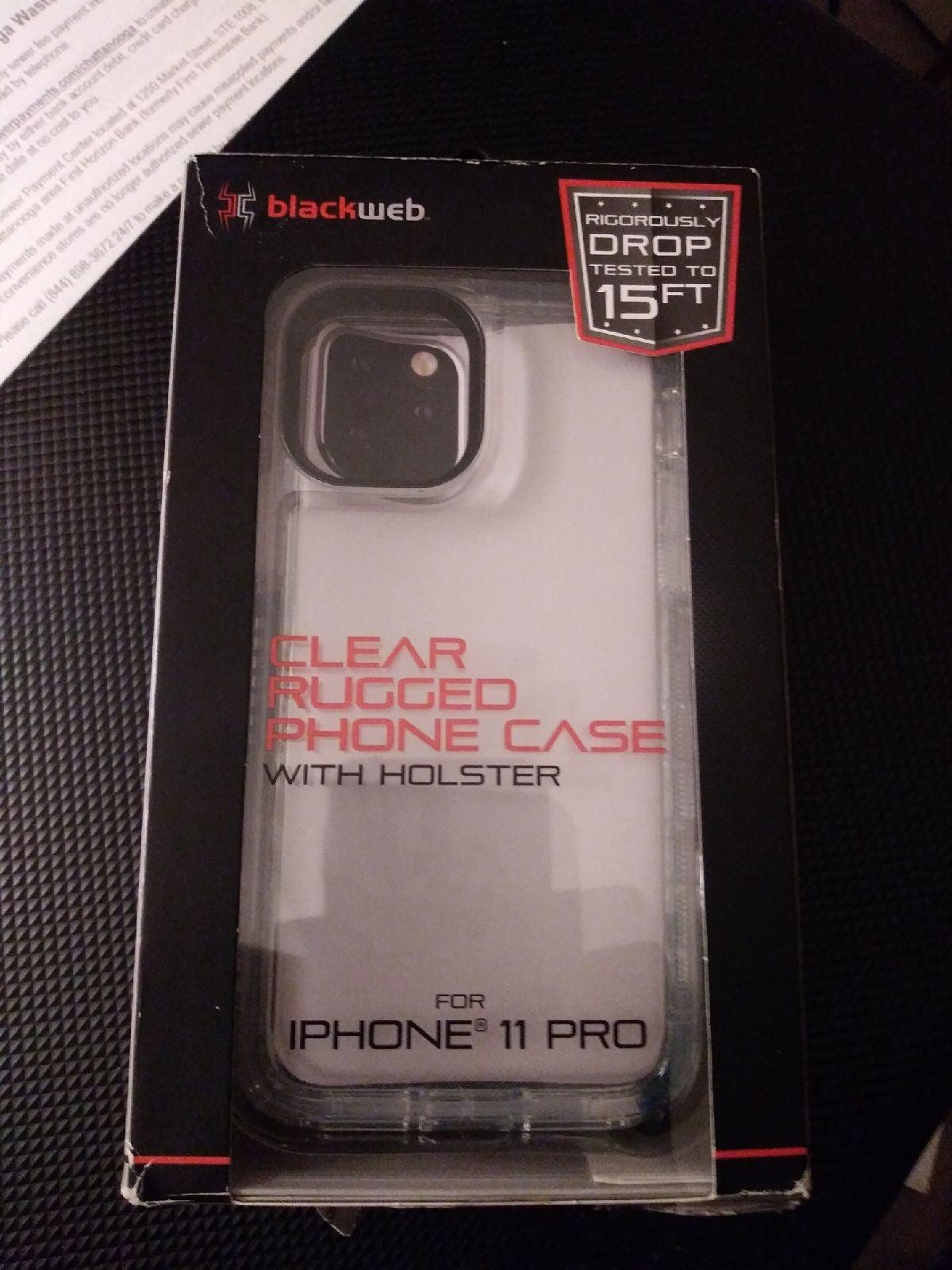 iPhone 11 Pro Blackweb Rugged Phone Case