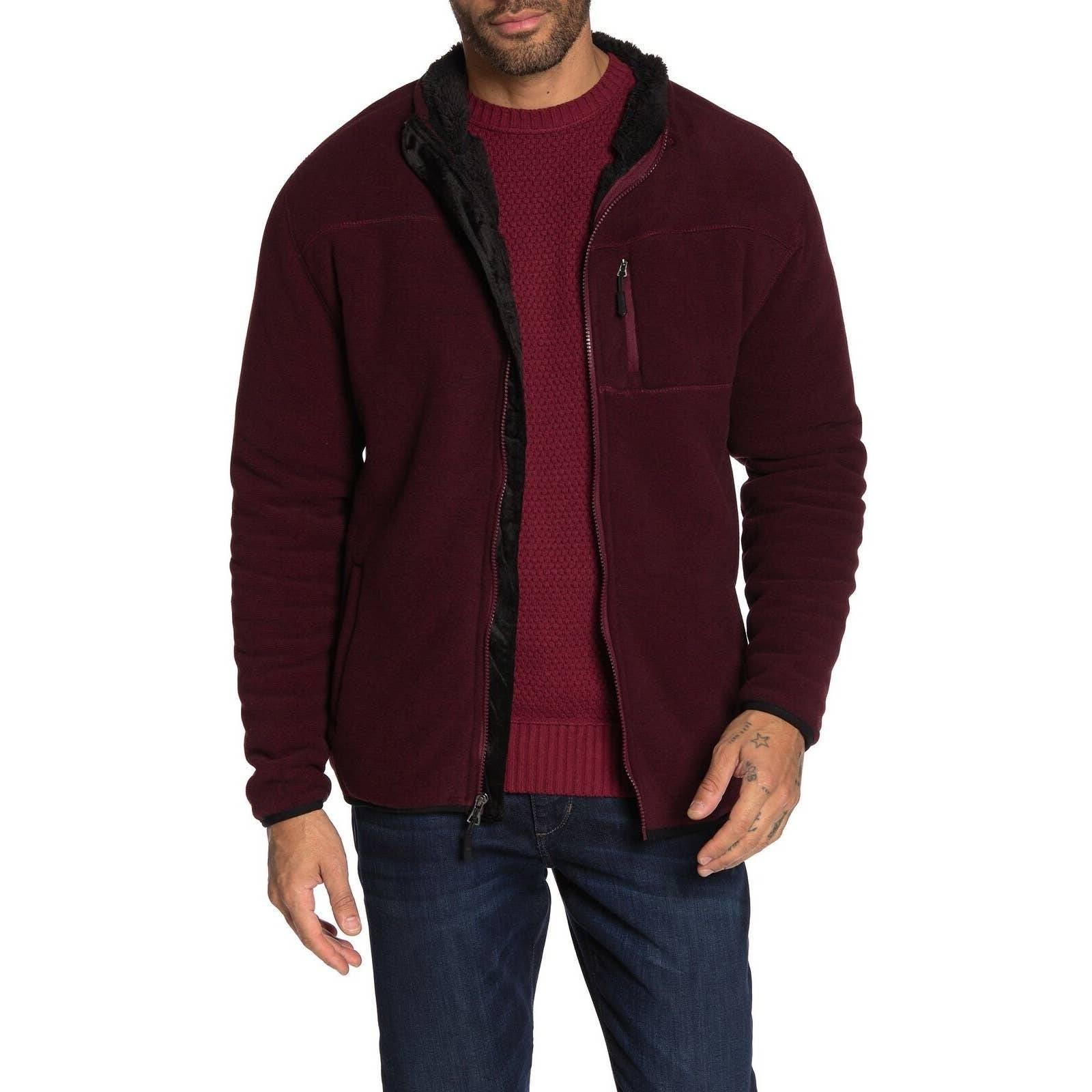 Weatherproof Mens Hooded Sweater Large