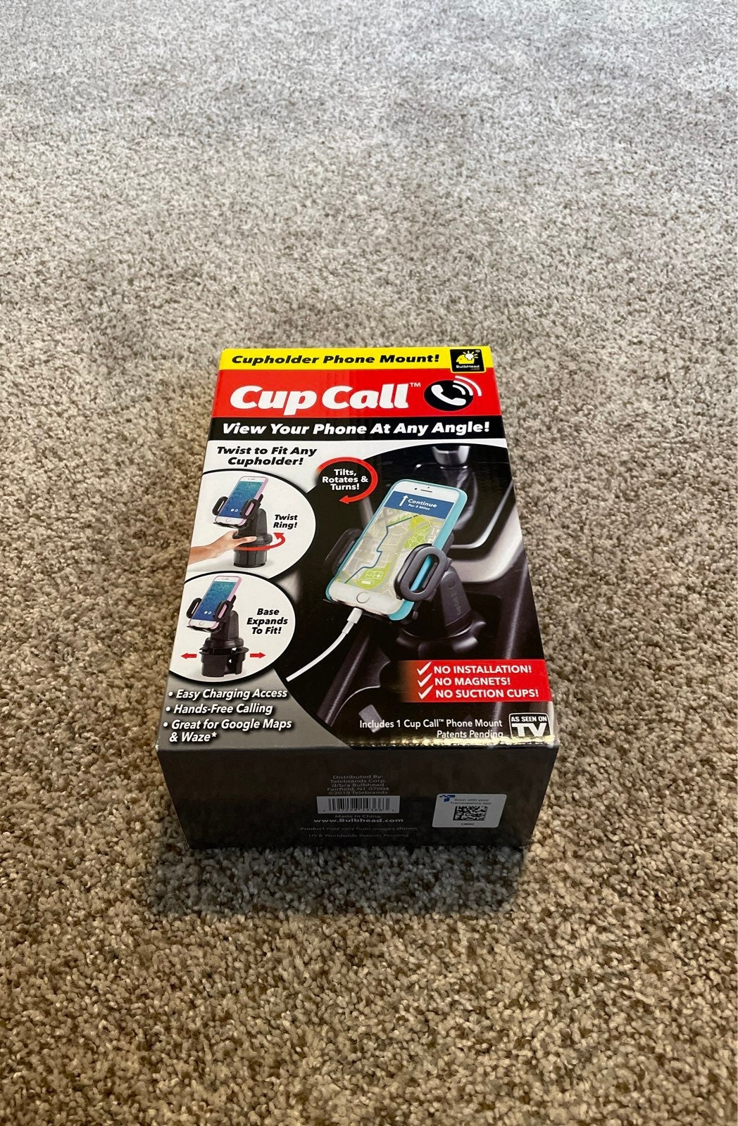 Cup Call Vehicle Cell Phone Holder