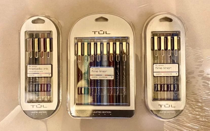 Limited Edition TUL Fine Liners & Pens