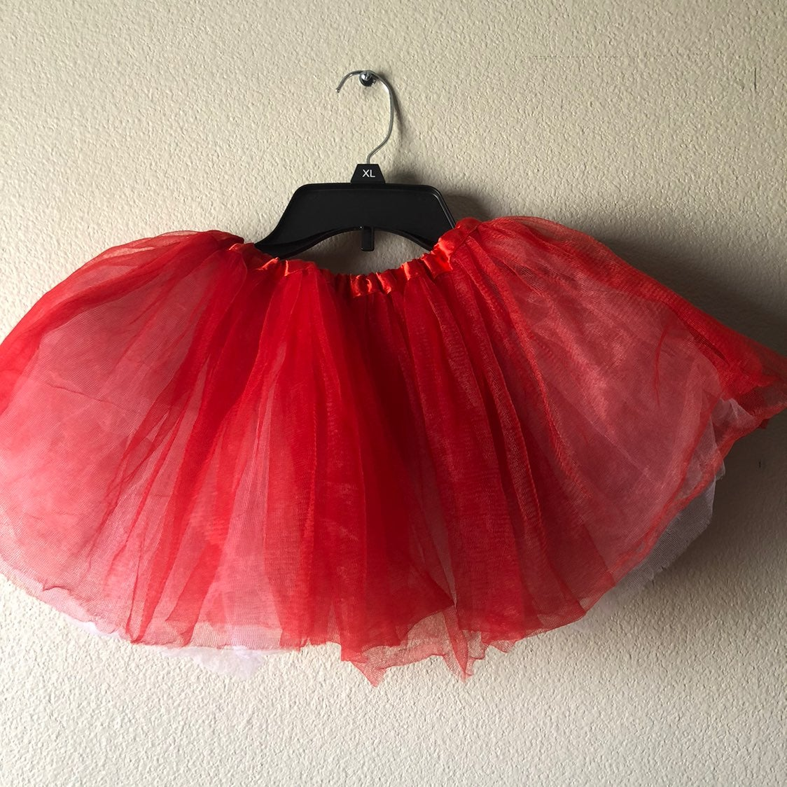 Reversible Tutu red White youth costume