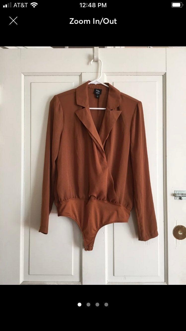 Tuck in blouse bodysuit