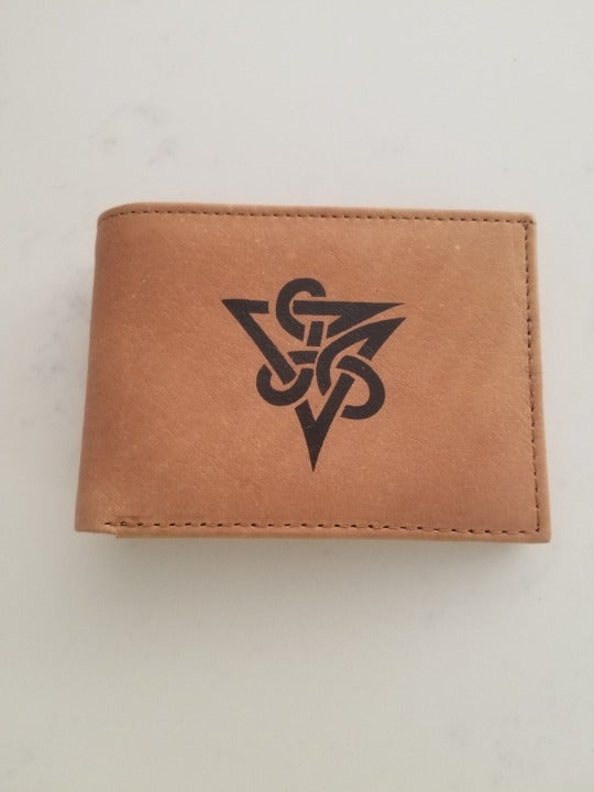New Irish Celtic Genuine Leather Wallet