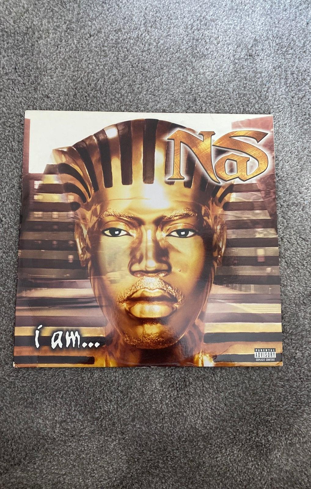 """Nas I am.... & One Mic Single 12"""" Vinyl"""