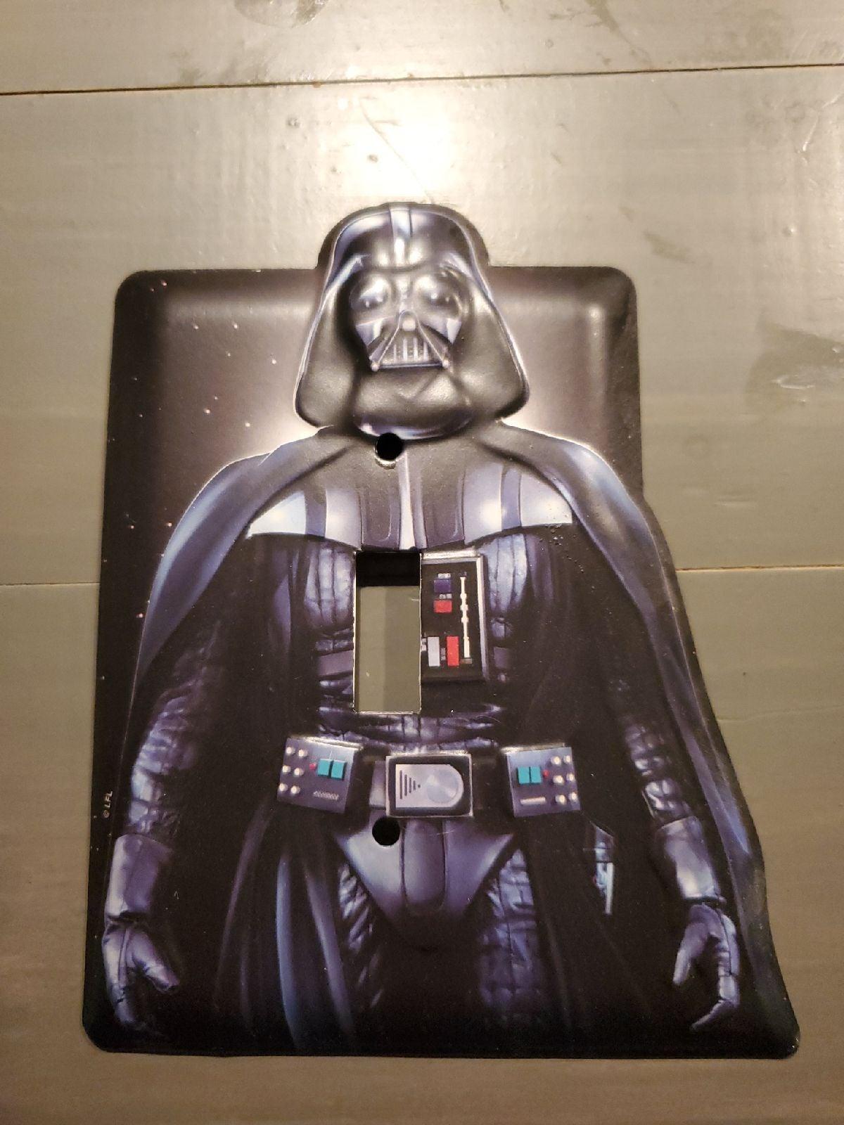 Darth Vader light switch cover