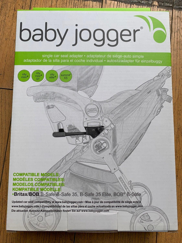 Baby Jogger City Mini Britax adapter