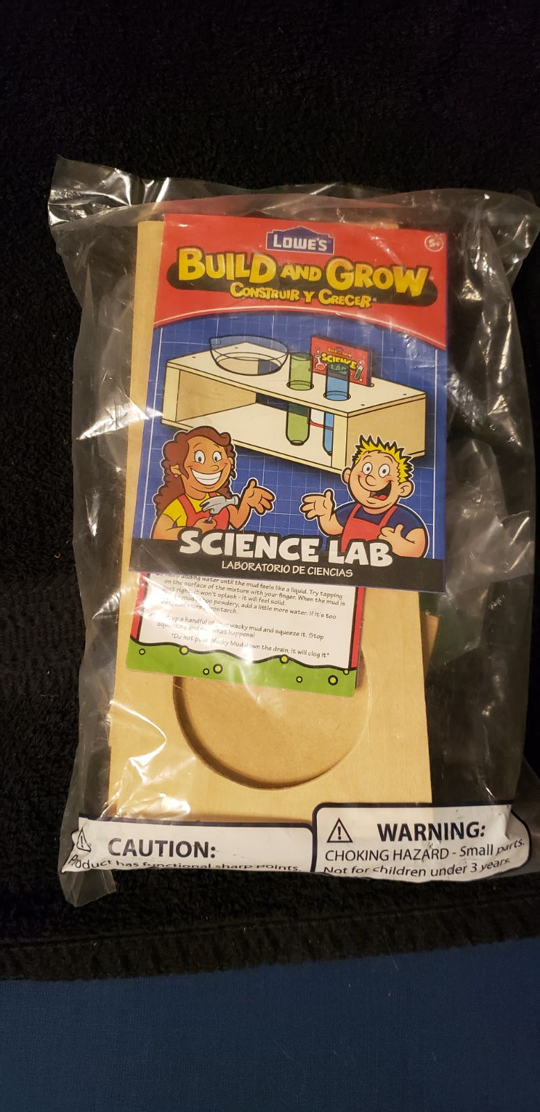 Build and grow science lab