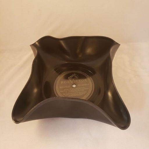 RCA Victor Vinyl Record Decorative Bowl
