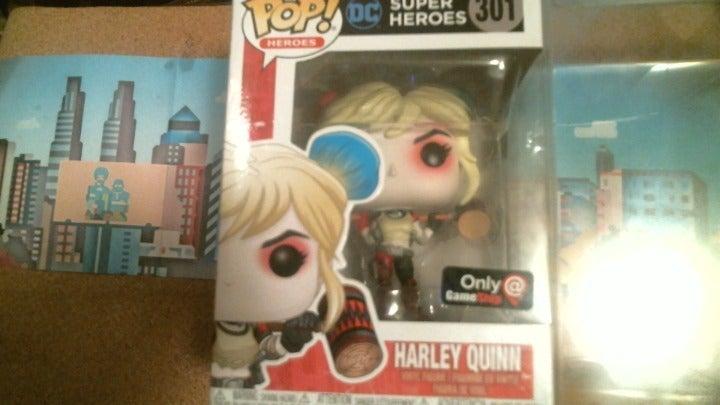 Harley Quinn GameStop Edition Funko Pop