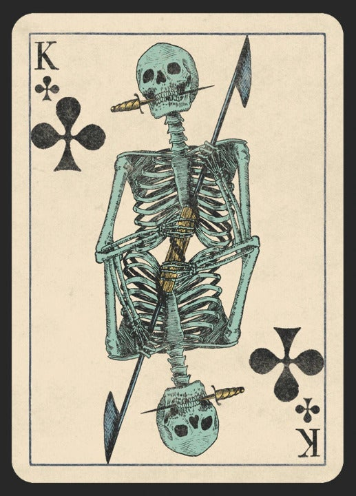 Deck of Skeletons Playing Cards