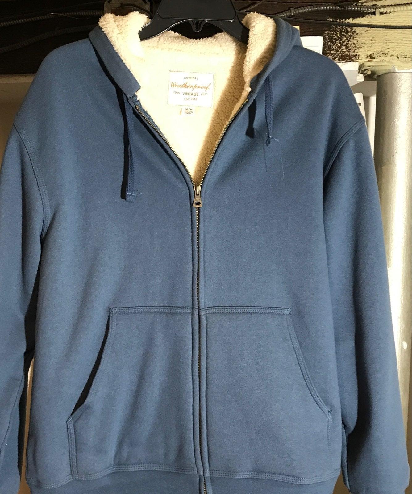 Men's hooded lined sweatshirt